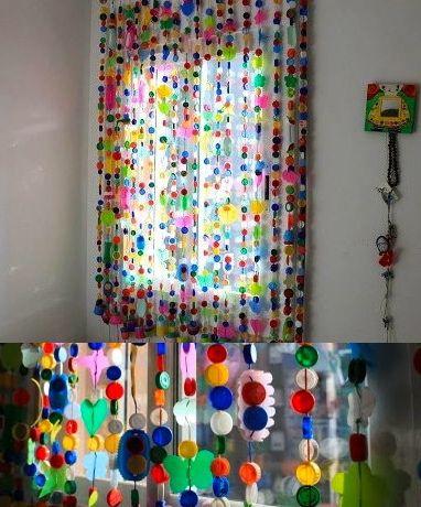 Una cortina muy especial ideas para huerto cortinas - Hacer cortinas infantiles ...