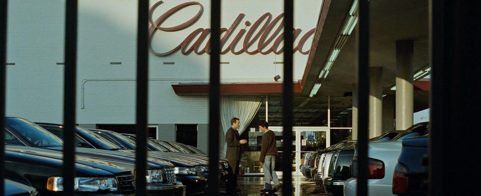 Cadillac dealership in FIGHT CLUB (1999) @Cadillac