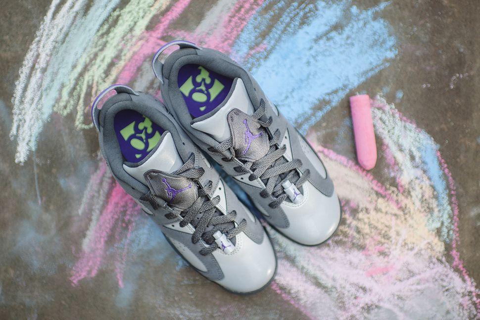 """Air Jordan 6 Retro Low GG """"Grey, Ultra Violet & Ghost"""