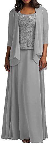 Photo of Erstaunliches Angebot auf Cdress Chiffon Mother The Bride Kleider Jacke Long Evening F …