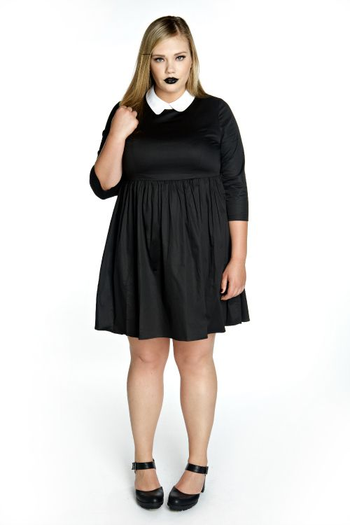 wednesday dress| up to size 28! pastel goth nu goth punk goth plus ...