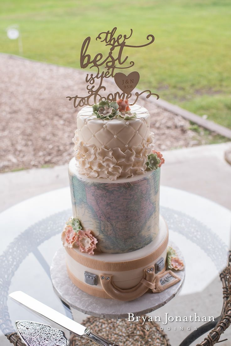 Nick And Jessica S Vintage Farm Wedding Wedding Cake