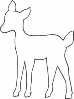 Kreatyve Diy Reh Kissen Freebie Vorlage Tiervorlagen Schablonen Vorlagen Tier Schablone