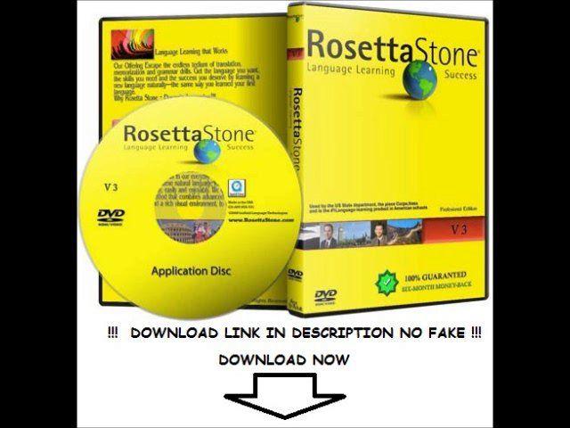 crack rosetta stone