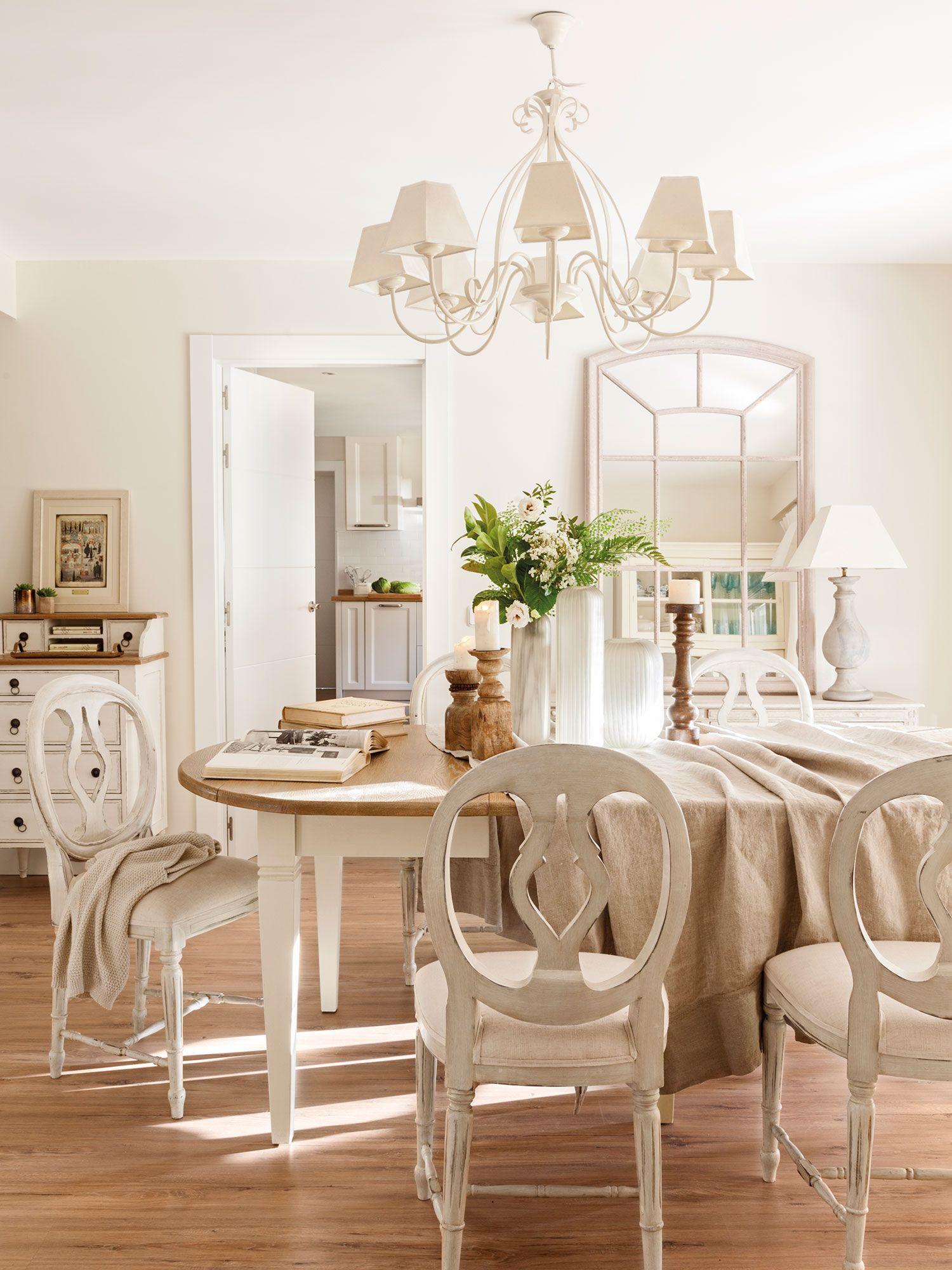 De madera y en blanco | Arquitectura y Decoración | Dining room ...