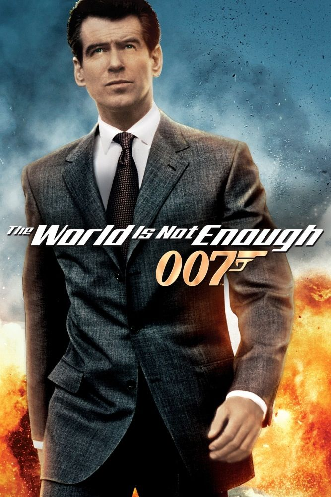 The World Is Not Enough Pierce Brosnan S 3rd Movie As Bond