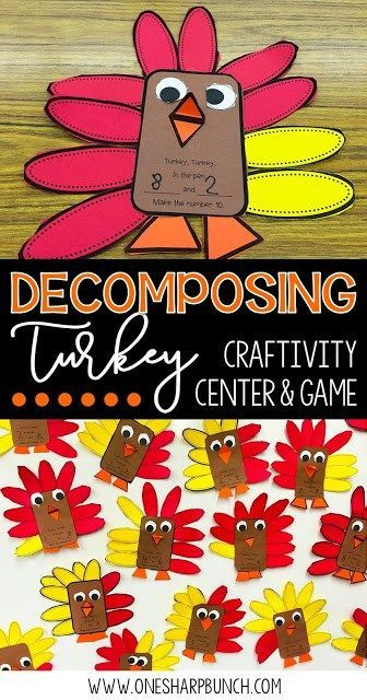Building Number Sense with Decomposing Turkey