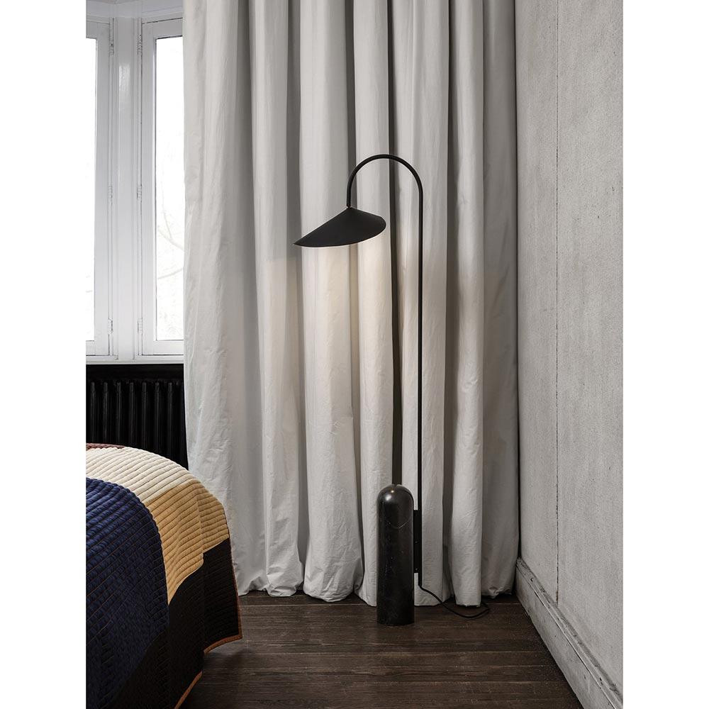 Arum Floor Lamp   Black floor lamp, Floor lamp, Modern floor