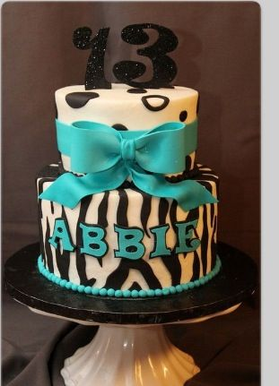 This cake for my 13 birthday?
