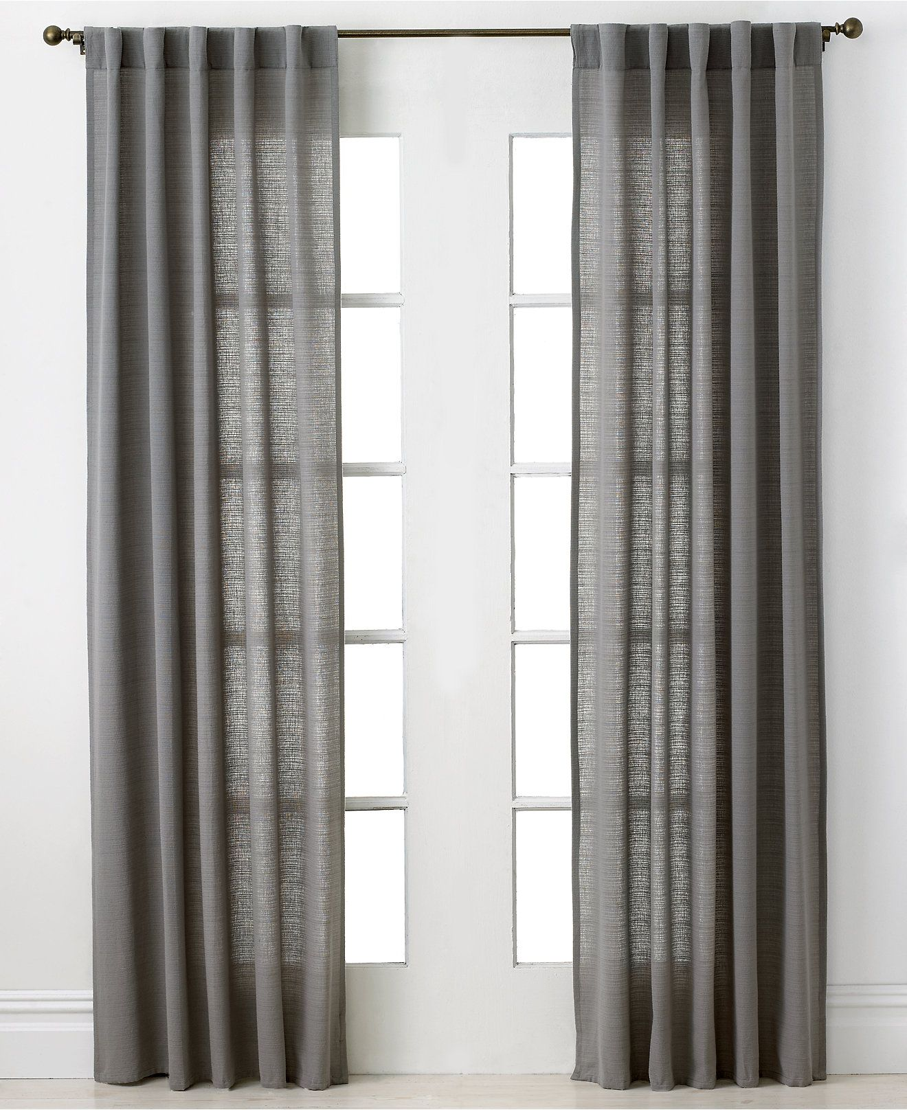 Park B Smith Sheer Thai 40 X 84 Panel Curtains Drapes For