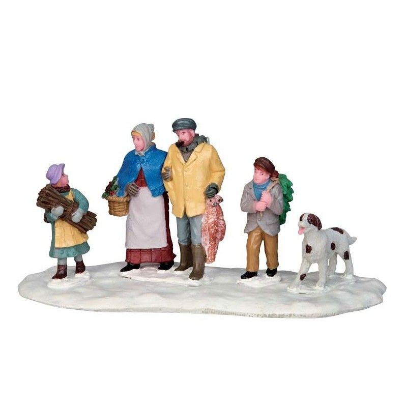LEMAX RURAL VICTORIAN FAMILY 53229