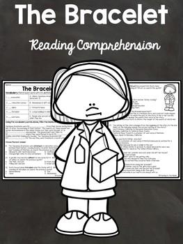 The Bracelet by Uchida Reading Comprehension Worksheet