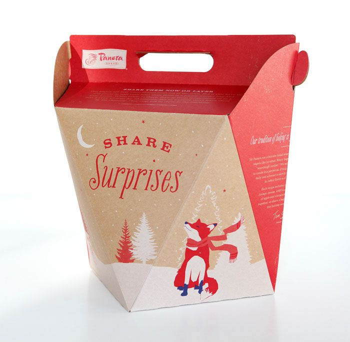 Panera Bread Coffee Box Bread Package  Google 검색  Package  Pinterest  Package Design