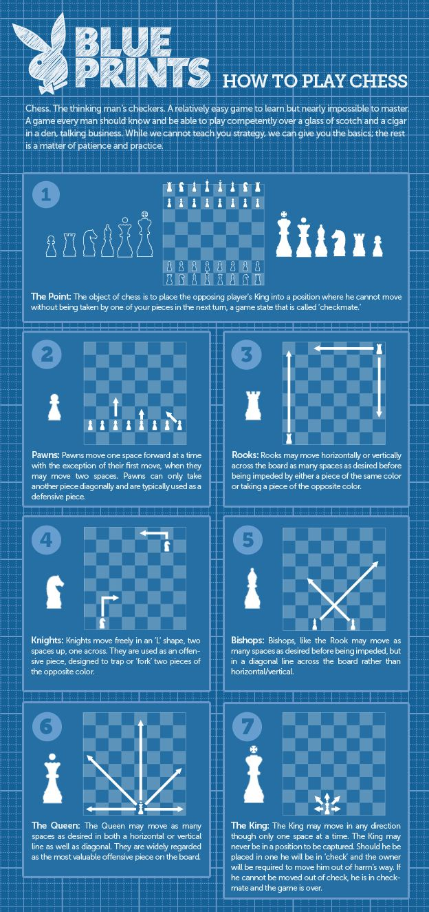 Chess. The thinking man\'s checkers. A relatively easy game to learn ...