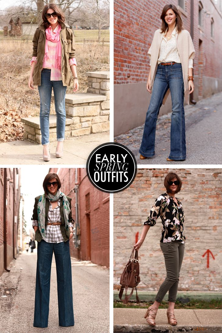 Early Spring Outfits on What i Wore, Jessica Quirk, whatiwore
