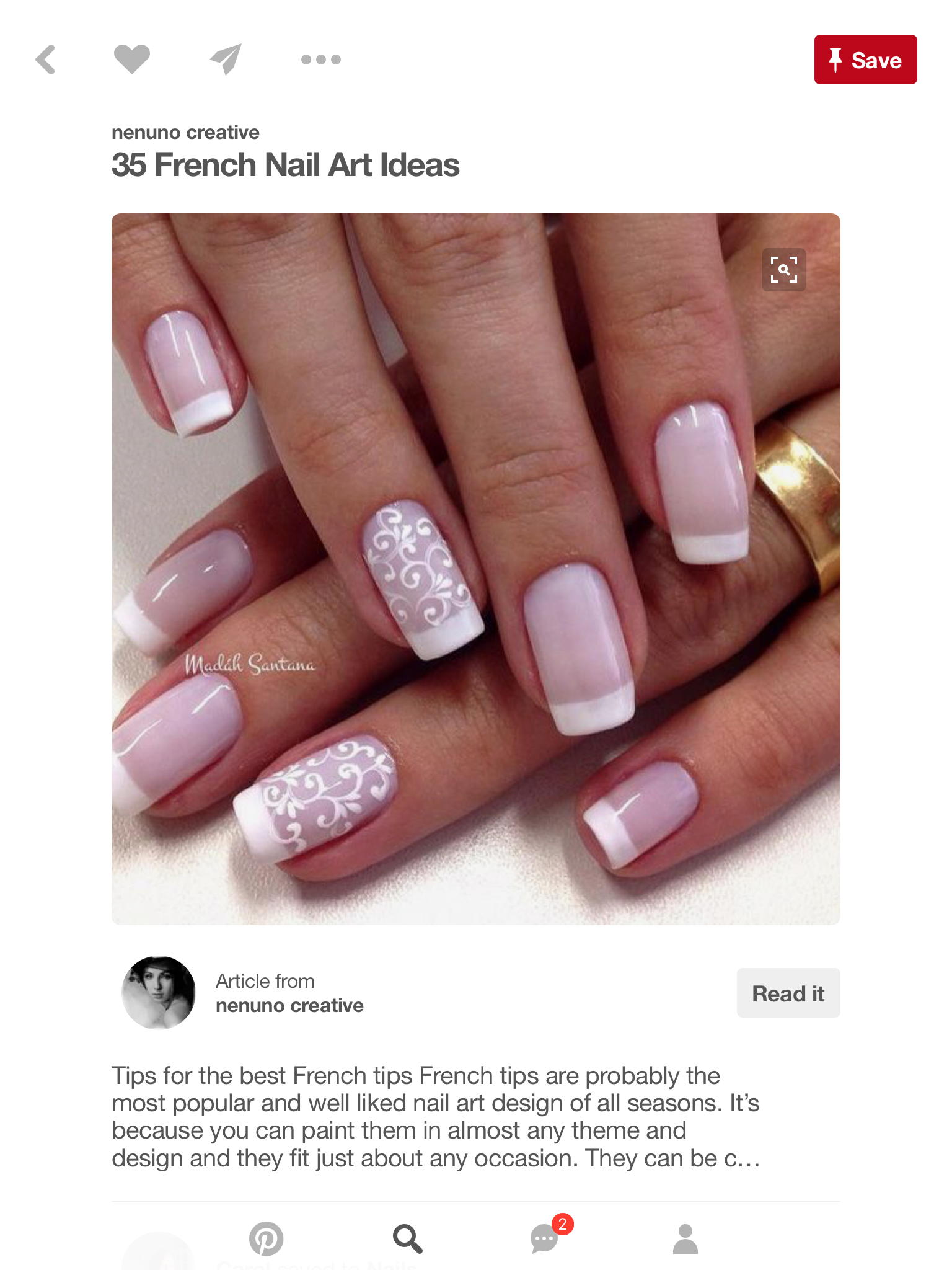 Pin by Upmarket Nails on Nails - love em! | Pinterest