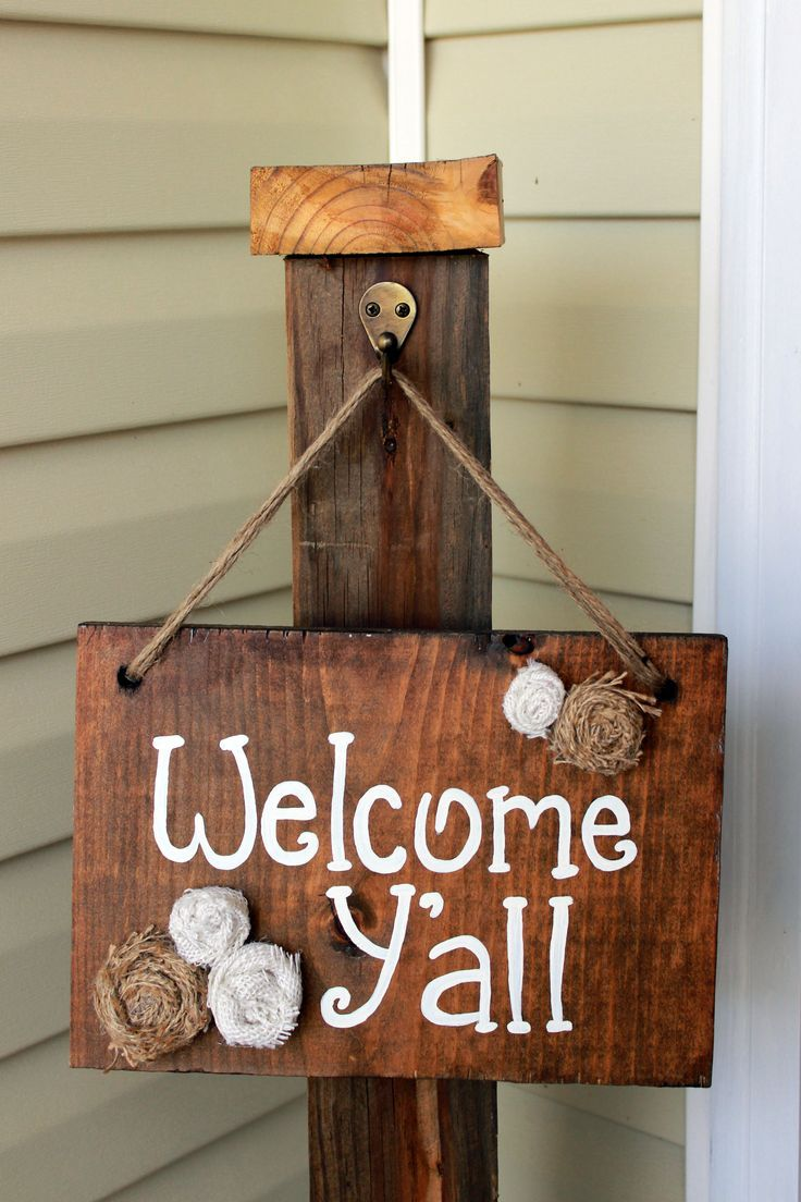 creative inspiration welcome home signs ideas. Welcome Y all Wooden Sign  Hamby Home DIY Projects Pinterest