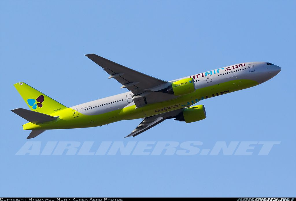 Boeing 777 2b5 Er Aircraft Picture Boeing 777 Aircraft Jin Air