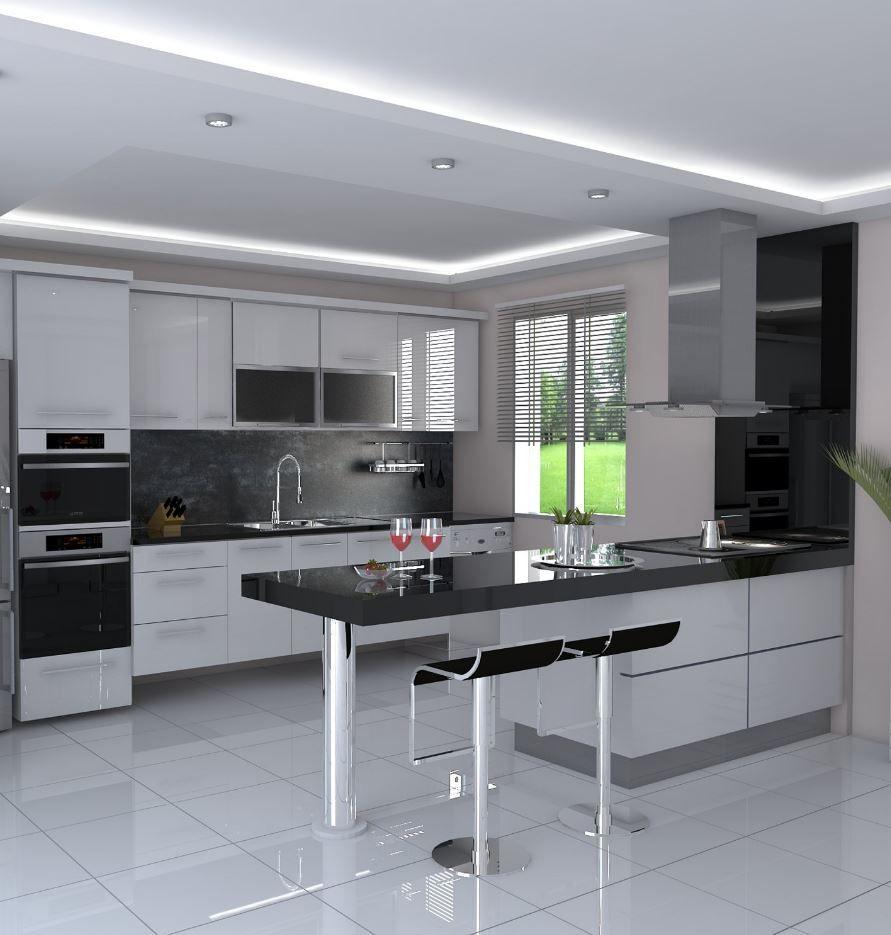 Photo of 50+ Modern Decorated Kitchen Design Ideas