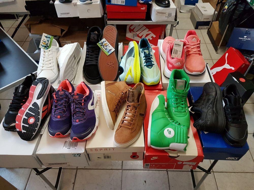 10 X PAAR Marken Schuhe Restposten Gemischt Sonderposten