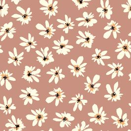 Seamless Pastel Floral Pattern by The Pattern Lane Seamless Repeat Royalty-Free Stock Pattern