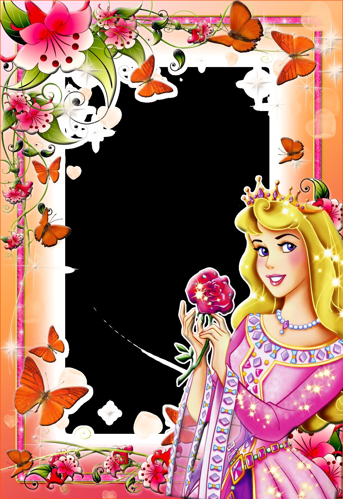 Imagens para photoshop: frames PNG fotos princesas disney ...