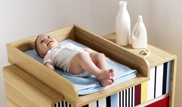 un-bon-lit-bébé-avec-table-à-langer.jpg (600×354) | ام لاول مرة ...