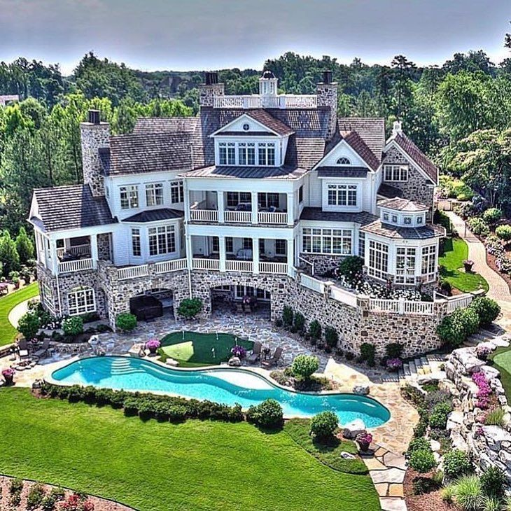 Mouth Dropping Dream Home Design House Designs Exterior Mansions