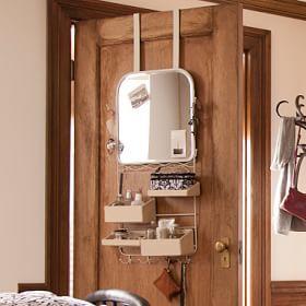 Over The Door Mirror Rack Yurt Odasi Dekorasyonu Modern Stor