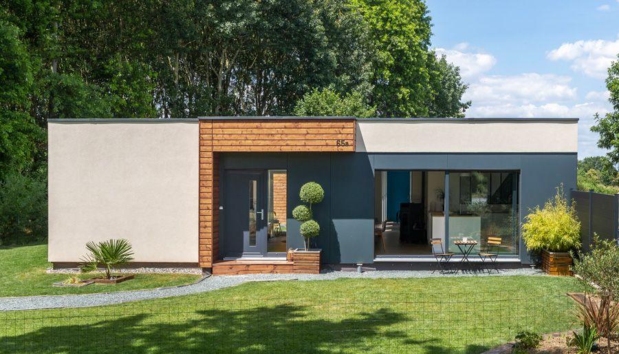 Maison Ossature Bois De Plain Pied Plan De Maison Moderne Plain Pied Plans De Maison Bungalow Maison Ossature Bois