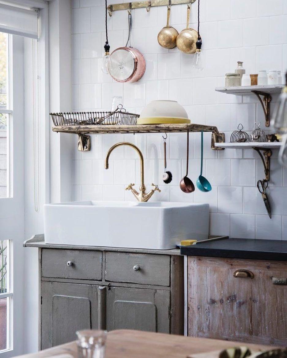 Perfecto Mueble De Cocina Tira De Latón Macizo Colección - Ideas de ...