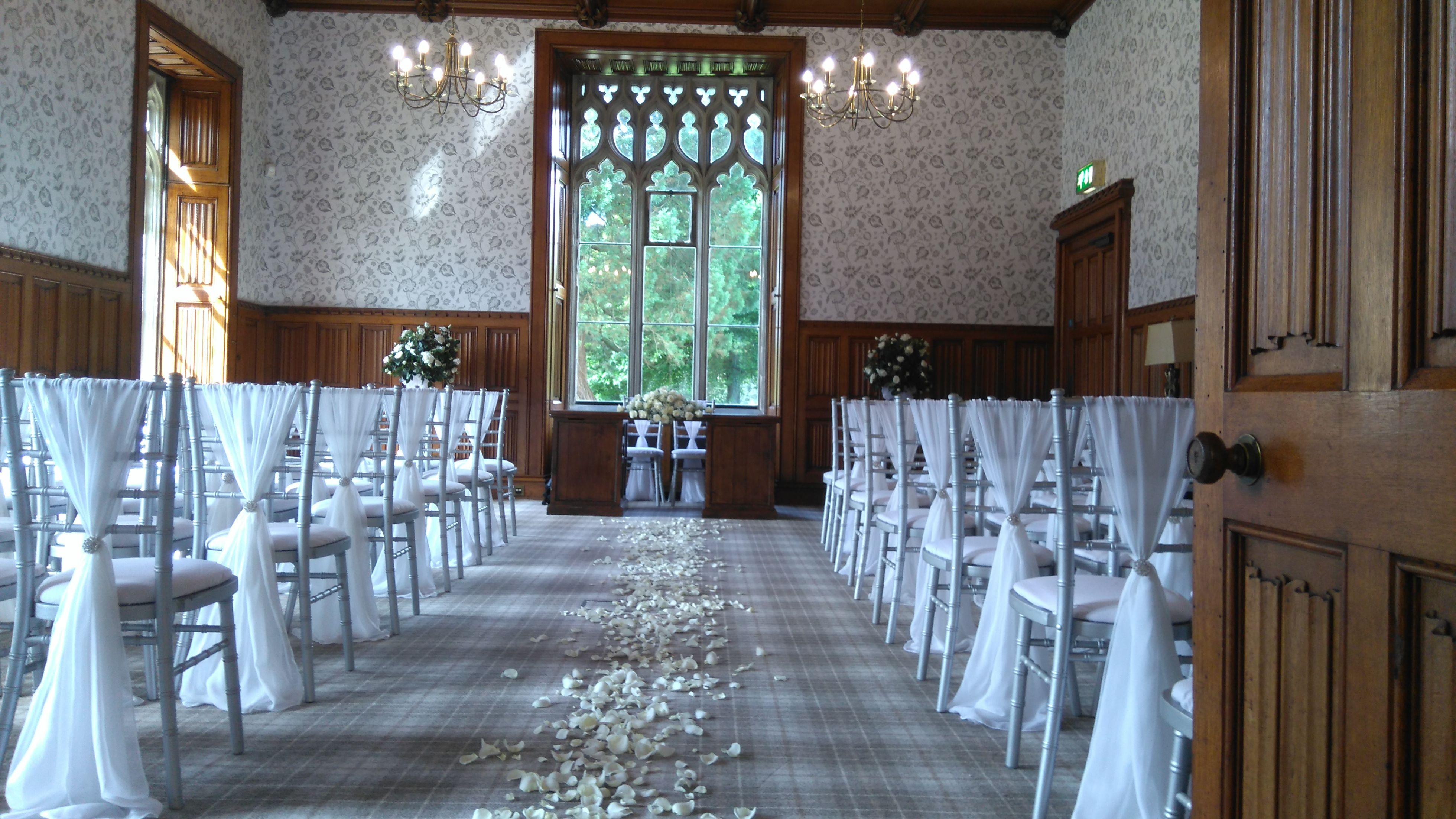 Hensol Castle Wedding Chiavari Chairs Decor Table Decorations