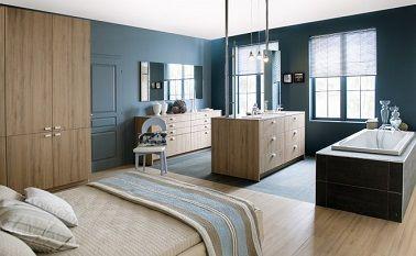 Suite parentale avec salle de bain et dressing et bureau chambre