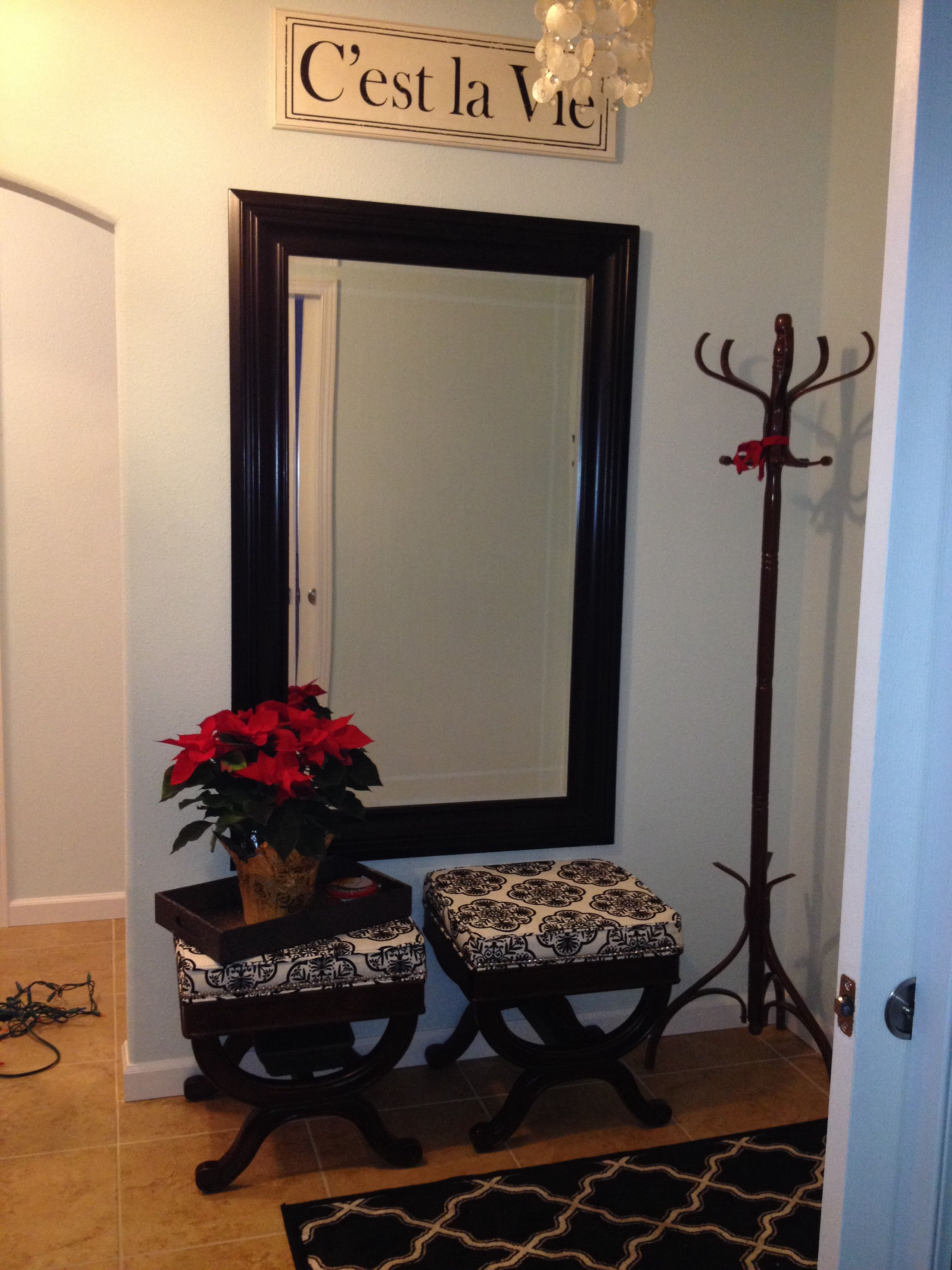 Peachy Large Mirror For Entry Way Low Bench Instead Of Seats Uwap Interior Chair Design Uwaporg