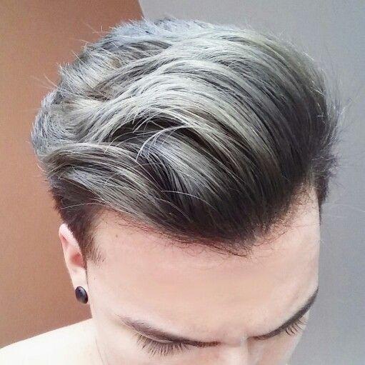 Cenizo | Color de pelo hombre, Colores de cabello mechas, Colores ...