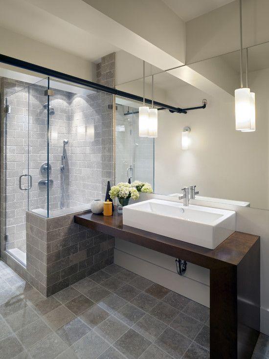 Shower Tile Design Ideas Pictures Remodel And Decor Basement Bathroom Design Loft Bathroom Bathroom Design