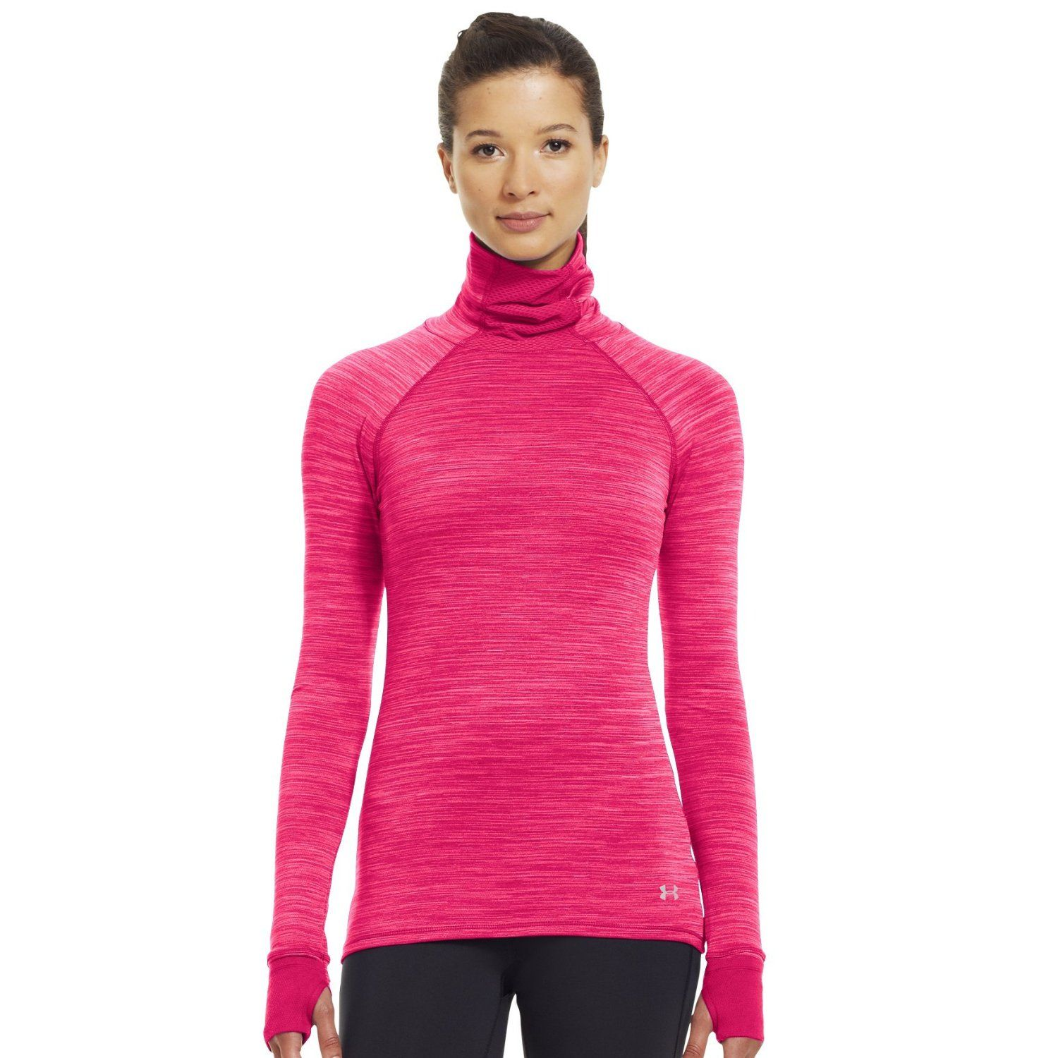 f5ca5ef793b8a Amazon.com: Under Armour Women's Printed UA Fly-By Turtleneck ...