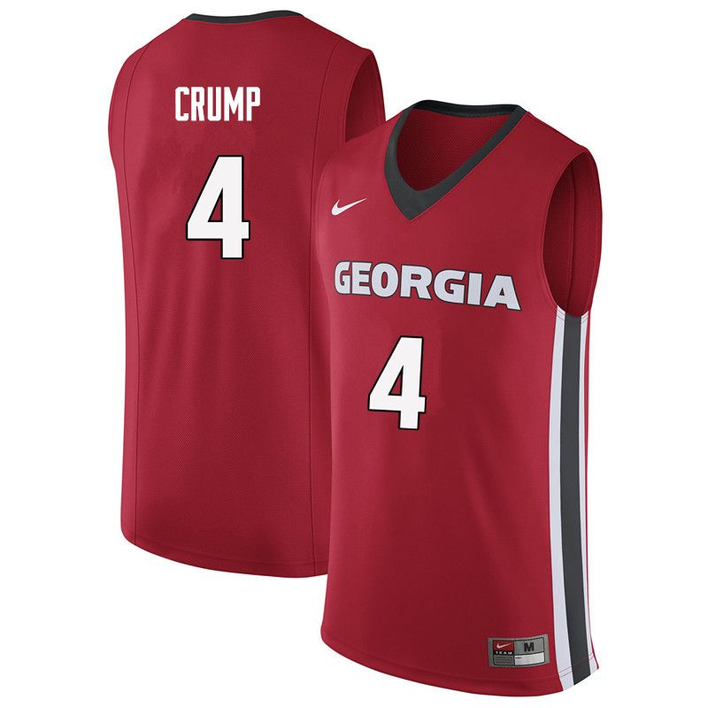 298780eb9 Men  4 Tyree Crump Georgia Bulldogs College Basketball Jerseys Sale ...