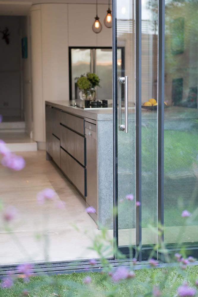 Frameless Sliding Glass Patio Door System | Slimline Glazing U0026 Aluminium  Systems