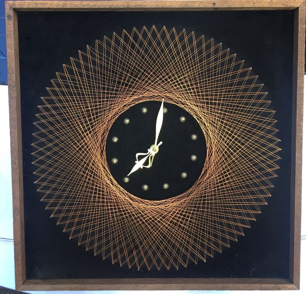 Mid Century Clocks Panosundaki Pin