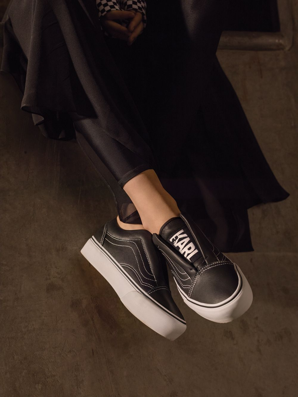Karl Lagerfeld Designs Vans Sneakers for Women - EU Kicks  Sneaker Magazine ac5e84db2