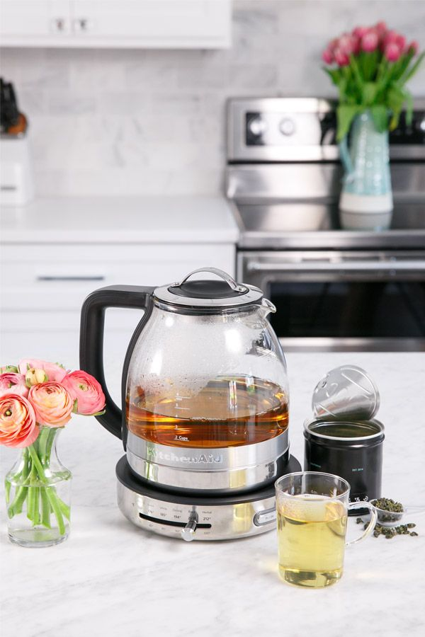 Making Tea Can Be Considered An Art Form With The Kitchenaid Gl Kettle