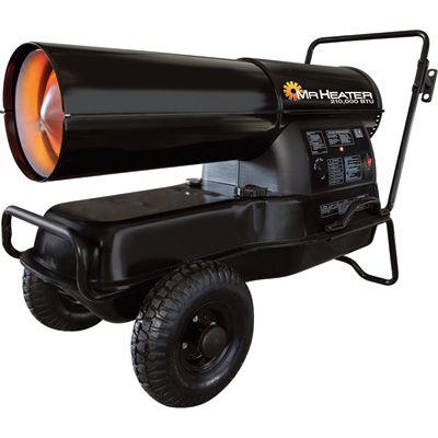 Mr. Heater Portable Kerosene Heater 210,000 BTU, 6,000 Sq ...