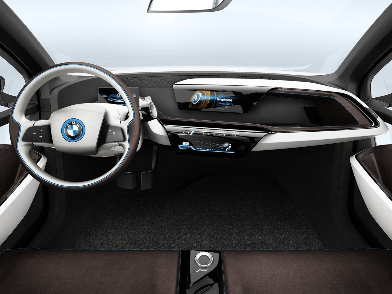2013 bmw i3 concept interior dashboard 1280 960 car interior pinterest. Black Bedroom Furniture Sets. Home Design Ideas