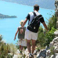 Randonnée à Moustiers au dessus du lac de Sainte-Croix