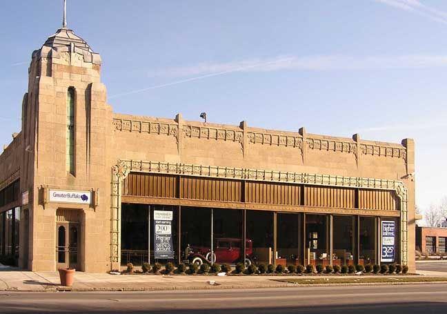 Pierce Arrow Showroom Buffalo Art Art Deco Buildings Buffalo New York