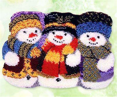 Latch Hook Kits Cushion Carpet Tapestry DIY Needlework Crocheting Rug Embroidery