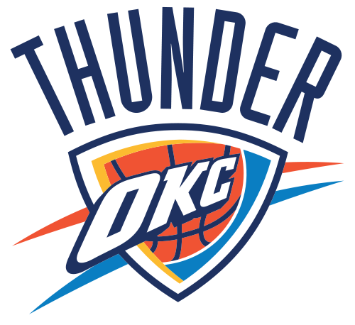 Printable Oklahoma City Thunder Logo Equipo Oklahoma City Thunder Nba Oklahoma City Thunder