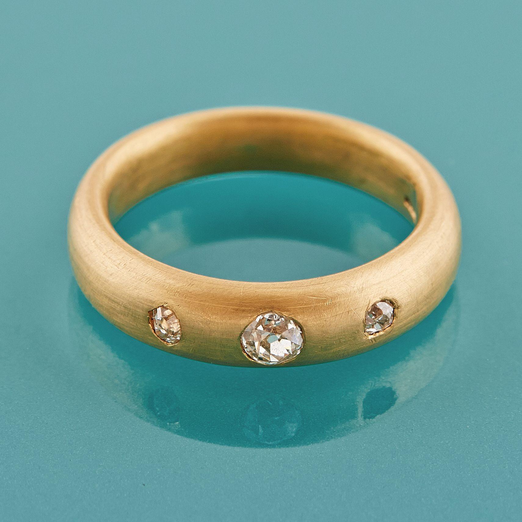 Diamonds Ring In 22ct Gold by Deborah Cadby httpwww