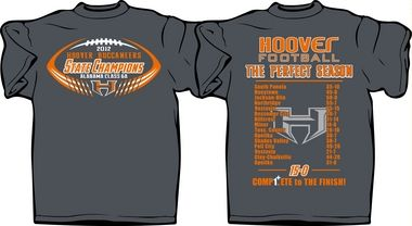 57e58bc122e0 Hoover High launches sales of state championship T-shirts